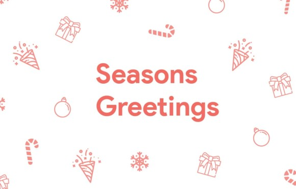 Season's Greetings – 2020 wishes